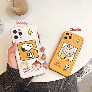 【MD55】Snoopy ❤ Charlie ❤ iPhoneケース ❤  iPhone11/Pro/Max ❤ かわいい  iPhone7/8/Plus/X/XS/Xr/Max