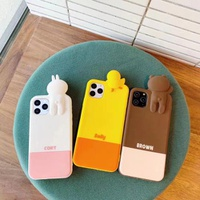 【MD57】 CONY ❤ SALLY ❤ BROWN  iPhoneケース かわいい  iPhone11/Pro/Max /6/7/8/Plus/X/XS/Xr/Max