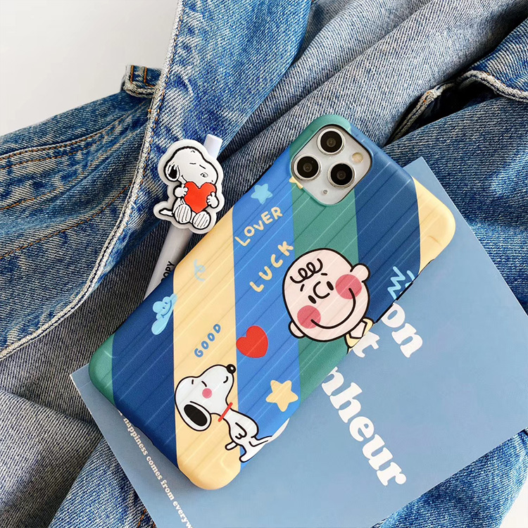【MD61】 Snoopy ❤ iPhoneケース  かわいい   iPhone11/Pro/Max  iPhone7/8/Plus/X/XS/Xr/Max