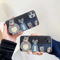 【MD79】 Tom and Jerry ❤  iPhoneケース  シリコン ❤  かわいい  iPhone11/Pro/Max /7/8/Plus/X/XS/Xr/Max
