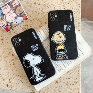 【S129】Snoopy  ❤️  Charlie  ❤️   iPhoneケース  かわいい ❤️  スヌーピー  ❤️  チャーリー