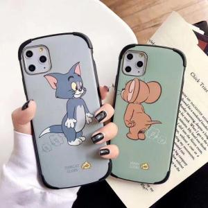 【MC36】Tom and Jerry ❤ カップル iPhone11/Pro/Max  可愛い  iPhoneケース  ソフトケース  iPhone Max/Xr/XS/X/6/7/8/Plus