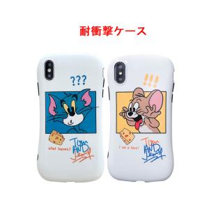 【T962】Tom and Jerry ❥(^_-) カップル couple ❤iPhone11/Pro/Pro Max 滑らかな曲線美 iphonecase 耐衝撃ケース