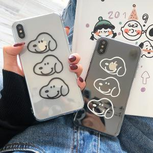 【TB14】Snoopy ❤  かわいい  iPhoneケース iPhone11/Pro/Max  透明  iPhone Max/Xr/XS/X/6/7/8/Plus