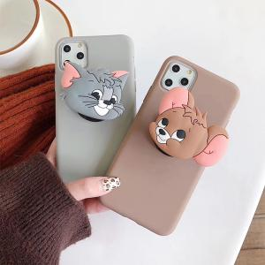 【MD69】 Tom and Jerry ❤ iPhoneケース   カップル  かわいい