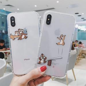 【MC60】 Chip ❤ Dale iPhone11/Pro/Max  iPhoneケース  かわいい  iPhone6/7/8/Plus/X/XS/Xr/Max