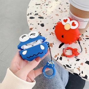 【ME80】 Sesame Street  ❤ Airpodsケース ❤  Airpods 1/Airpods 2/Airpods Pro  かわいい  カップル