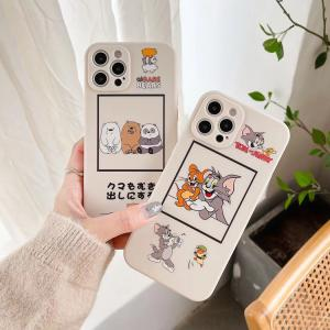 【S219】WeBareBears ❤️ Tom and Jerry  ❤️  かわいい ❤️   iPhoneケース