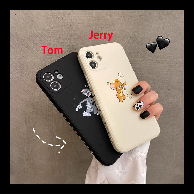 【S347】Tom and Jerry ❤️  笑う  ❤️  かわいい  ❤️ 人気   iPhoneケース  ❤️
