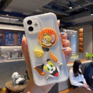 【S503】Tom and Jerry ❤️  iPhoneケース  ❤️  iPhone12/Pro/Max ❤️  滴ゼリー工芸