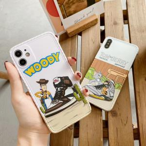 【MK38】Woody ❤️  Tom and Jerry  iPhoneケース  かわいい