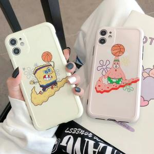 【MM56】SpongeBob ❤️  Patrick Star   iPhoneケース  ❤️  かわいい