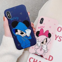 【TA74】Mickey ❤ Minnie  iPhoneケース カップル  iPhone11/Pro/Max  可愛い  iPhone6/7/8/Plus/X/XS/Xr/Max
