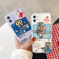 【MC78】Tom ❤ Jerry ❤  iPhone11/Pro/Max  カップル  iPhoneケース  iPhone7/8/Plus/X/XS/Xr/Max